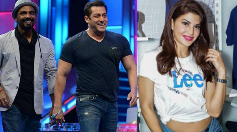 Jacqueline Fernandez has worked with Remo D'Souza in 'A Flying Jatt' and with Salman Khan in 'Kick.'