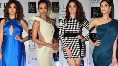 Bollywood stars came out in their stylish best at the Elle Beauty Awards held in Mumbai late Wednesday. (Photo: Viral Bhayani)