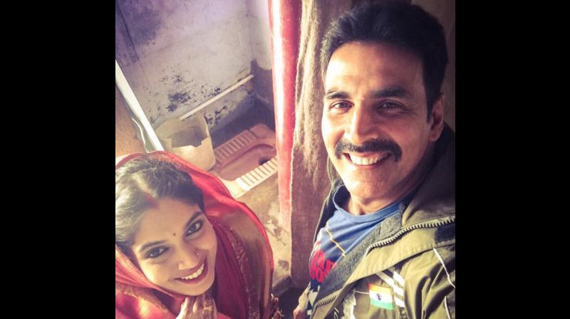 Akshay Kumar & Bhumi Pednekar starts 'Toilet: Ek Prem Katha' shooting