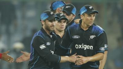 Openers Guptill and Latham gave a solid start to New Zealand. (Photo: AFP)