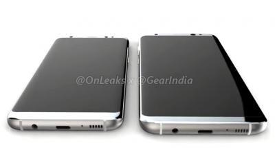 Samsung Galaxy S8 in full glory