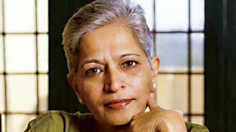 Protest rally in Bengaluru on Tuesday against Lankesh murder