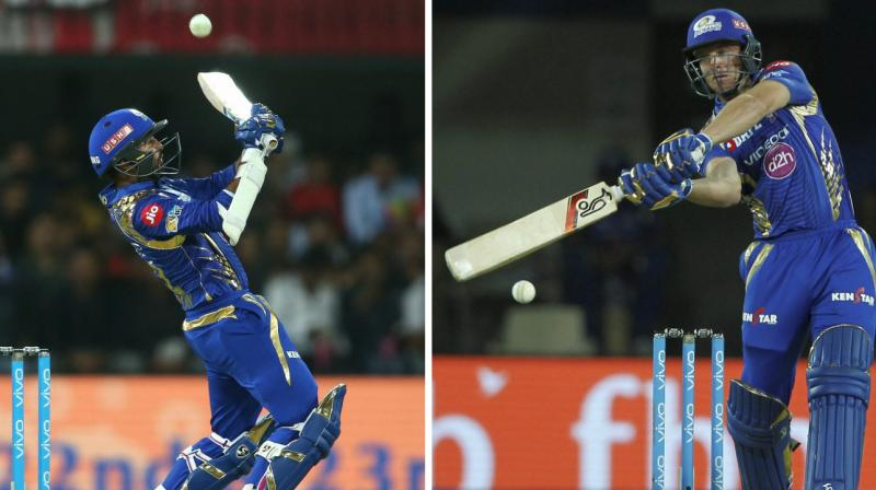 Jos Buttler (77 off 37 balls) and Parthiv Patel (37 off 18 balls) set up a thumping win for Mumbai Indians. (Photo: PTI)