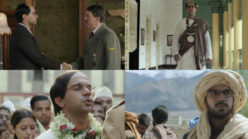 Screengrabs from the trailer.