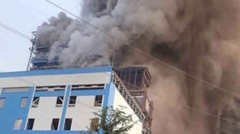 At least 100 people have suffered injuries after a boiler exploded at the National Thermal Power Corporation (NTPC)'s plant in Raebareli. (Photo: PTI)