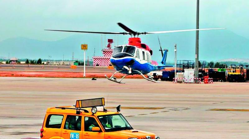 HeliTaxi services from Bengaluru Airport to Electronic City launched