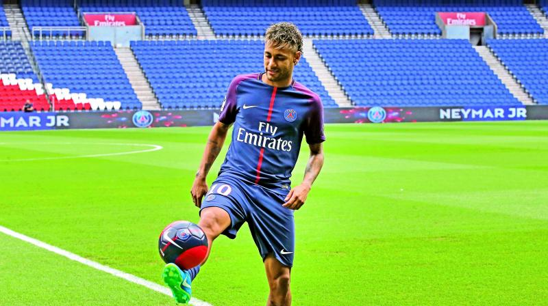 Neymar signs 5-year PSG deal after paying own €222m release clause