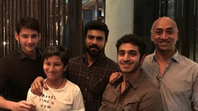 Mahesh, Ram Charan picture goes viral