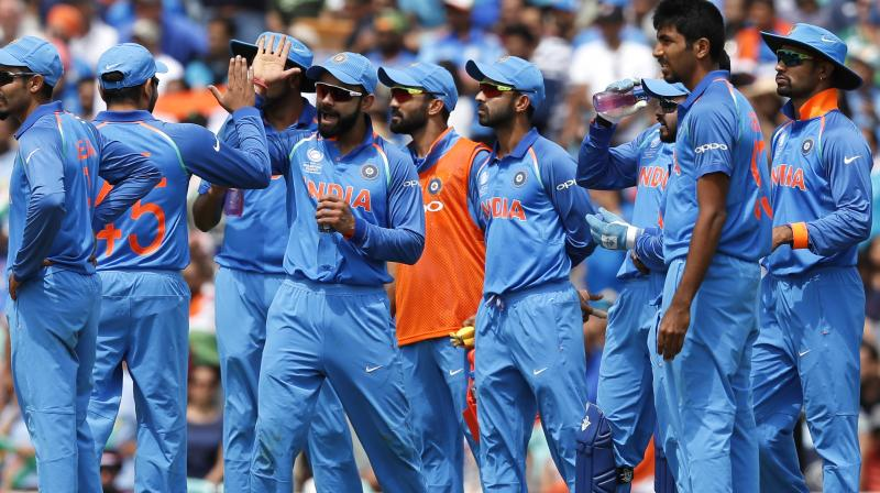 India overwhelm S Africa to enter Champions Trophy semis