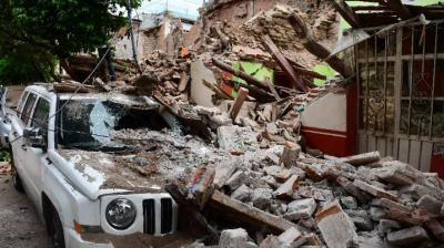 At least 61 people were reported dead in one of the most powerful earthquakes ever recorded in Mexico struck off the Mexico's southern coast.