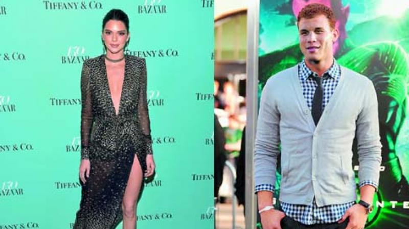 Kendall Jenner gets cozy with Blake Griffin
