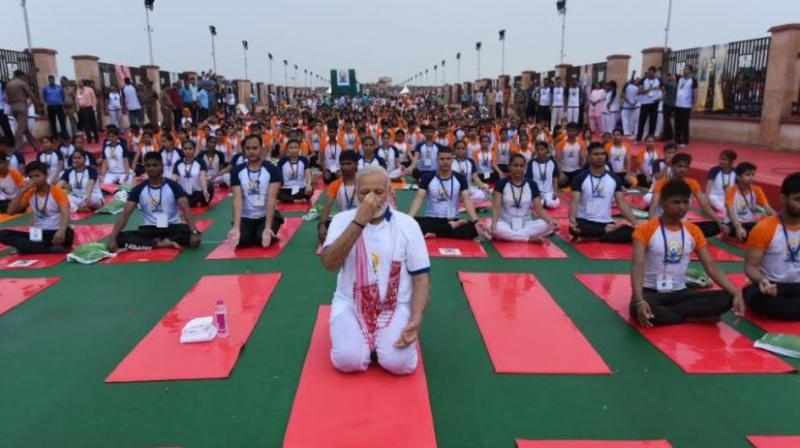Prime Minister Narendra Modi Says Yoga Is Connecting The World