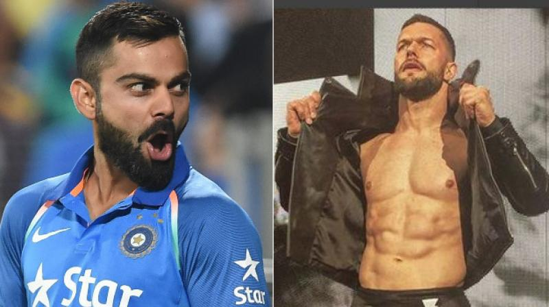 WWE superstar Finn Balor revealed his desire to meet the 29-year-old Kohli, and also said that he would love to play a match with Kohli.(Photo: PTI / Instagram)