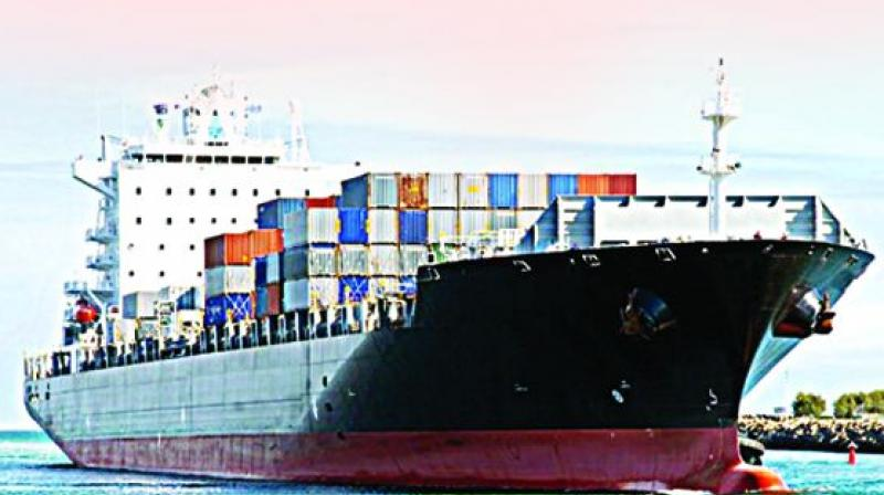 Hit by GST, exports fall 1.1% in October