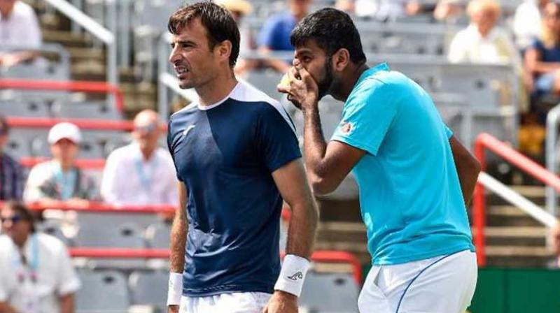 Bopanna-Dodig pair reaches Cincy quarters