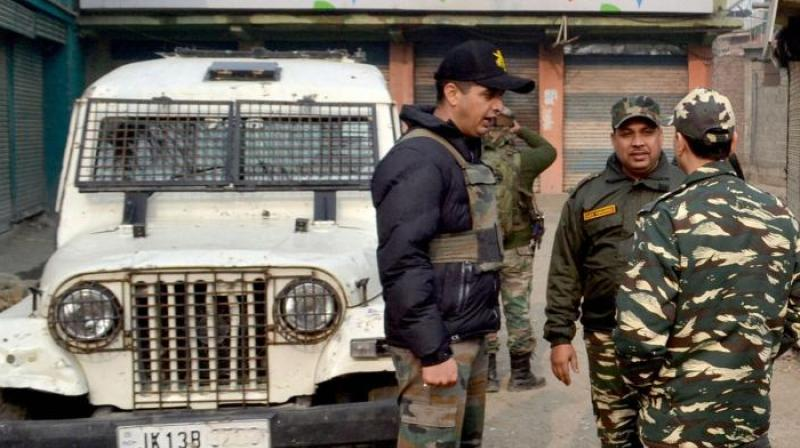Five policemen, two bank employees killed in Kashmir