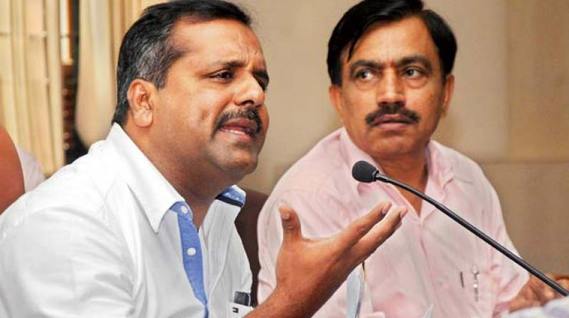 Food and Civil Supplies Minister UT Khader (File photo)