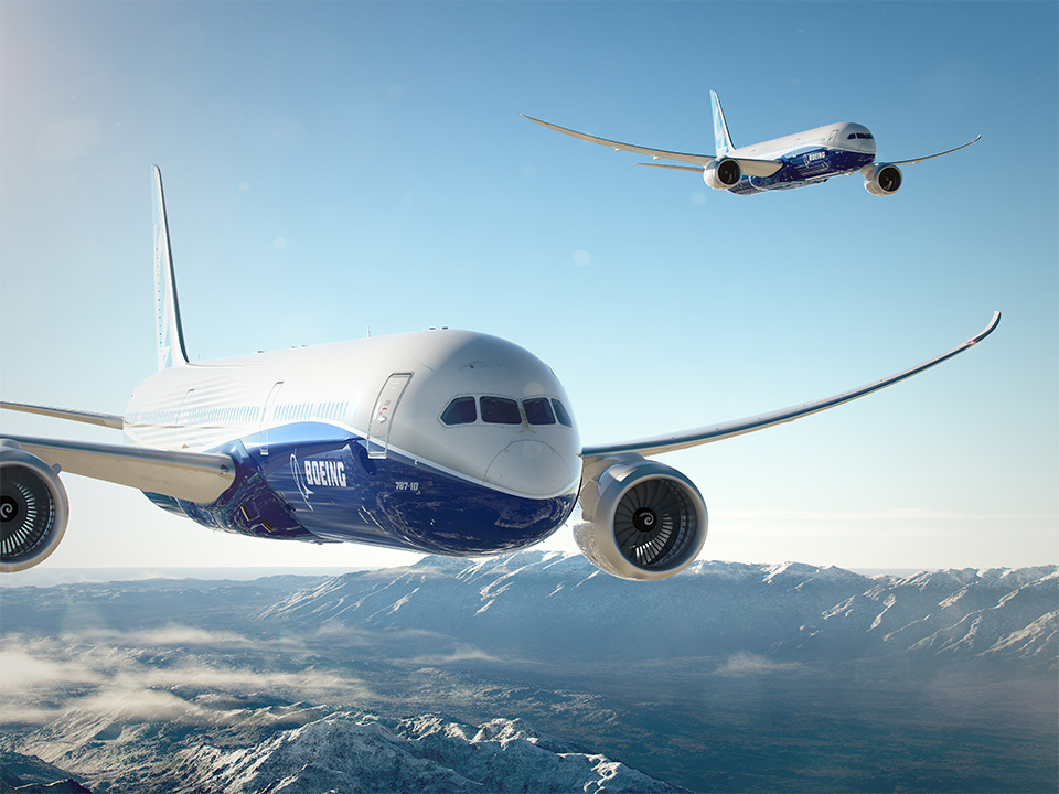 As an 18-foot (5.5-m) stretch of the 787-9, the 787-10 will deliver the 787 family's preferred passenger experience and long range with up to 10 per cent better fuel use and emissions than the competition.
