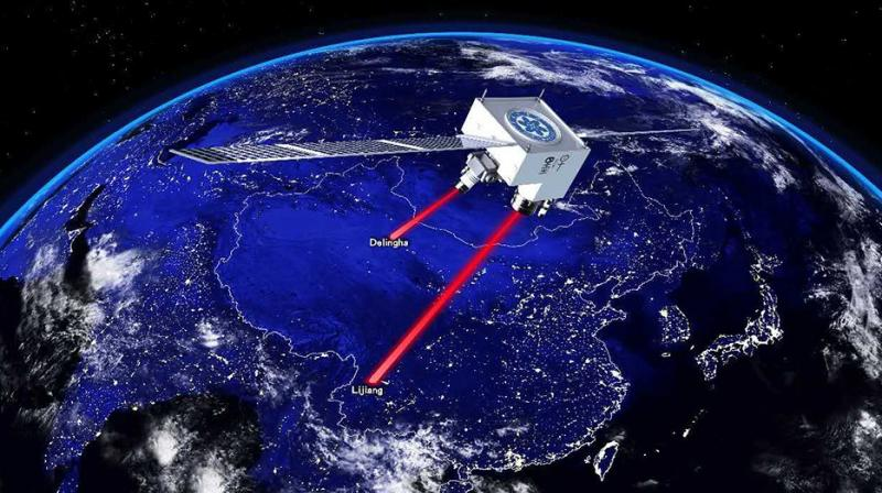 Physicists Demonstrate Record Breaking Long-Distance Quantum Entanglement in Space