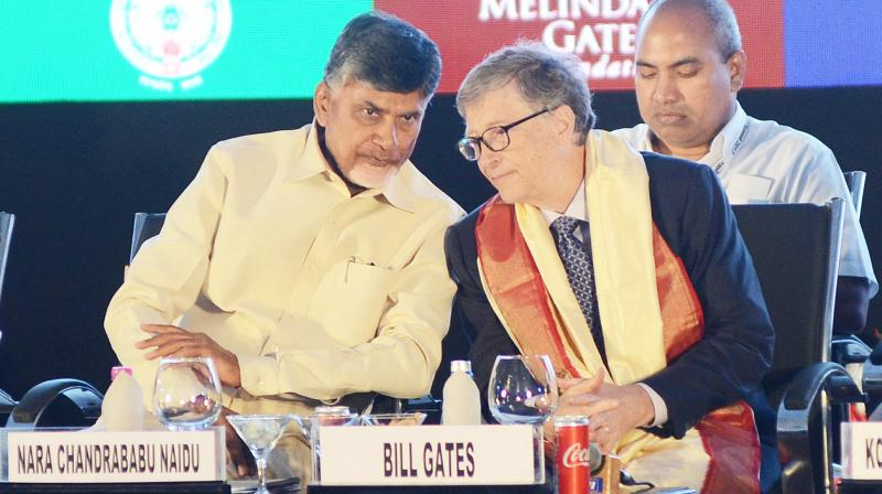 Bill Gates praises Andhra for using tech to help farmers