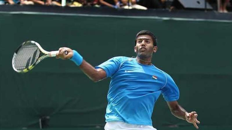 Bhambri Pushes Shapovalov To Five Sets; Tie At 1-1