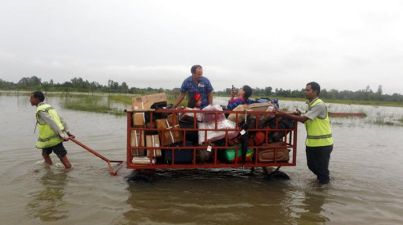 Indian tourists stranded in Nepal floods