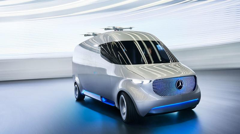 Mercedes-Benz Vans has been pushing this development forward and is vying to bring intelligence into its Vans.