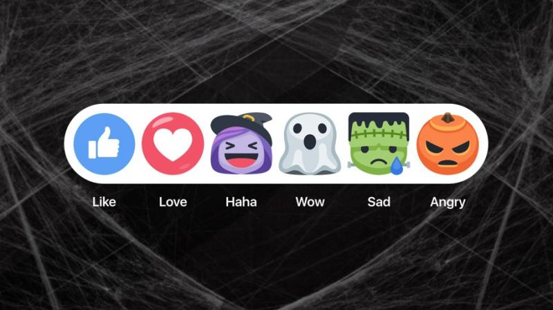 Facebook launches Halloween themed features