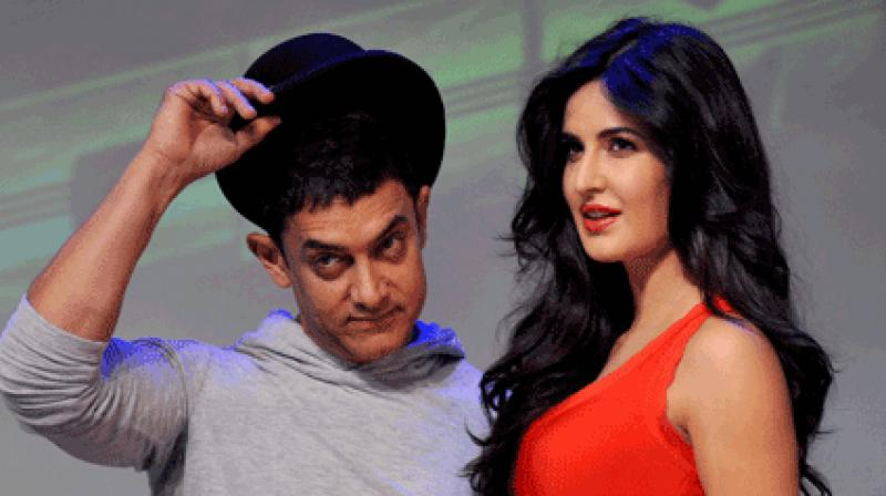 Aamir and Katrina to reunite on big screen with Thugs of Hindostan?