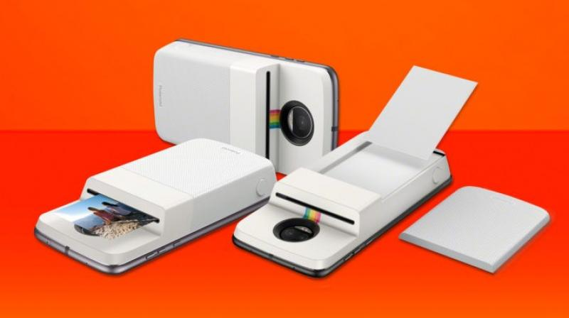 Motorola's new Mod is a snap-on Polaroid photo printer