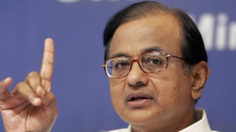 Congress leader P Chidambaram. (Photo: PTI | File)