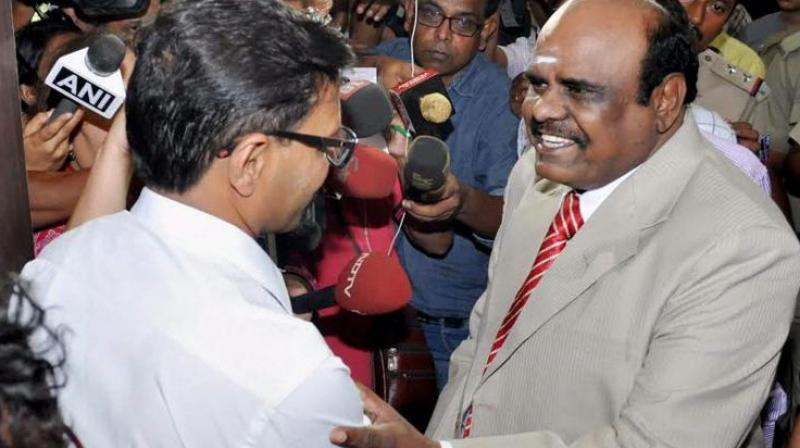 Justice Karnan, on run, moves Supreme Court for relief