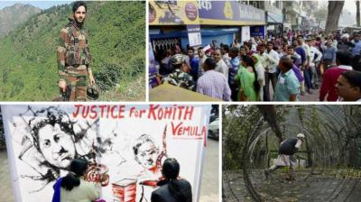 From Demonetisation to Dalit student Rohit Vemula's suicide, here are the top ten headlines from India in 2016.