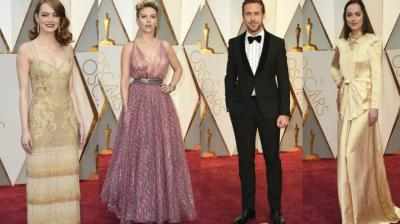There were hits and there were misses as celebrities came all decked up for the 89th Academy Awards held in Los Angeles on Sunday. (Photos: AP)