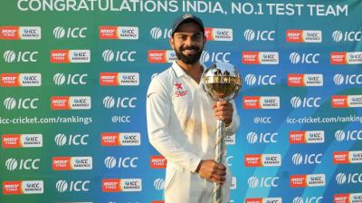 India have come a long way to climb to the summit of the International Cricket Council (ICC) Test rankings demolishing every team in their way so far this year. (Photo: BCCI)