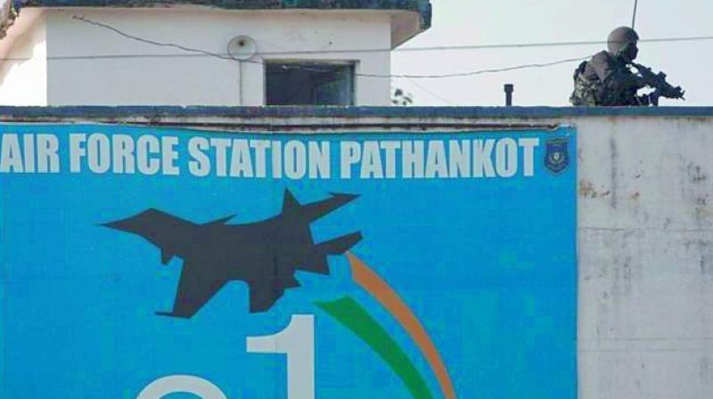 Search operation at Pathankot airbase