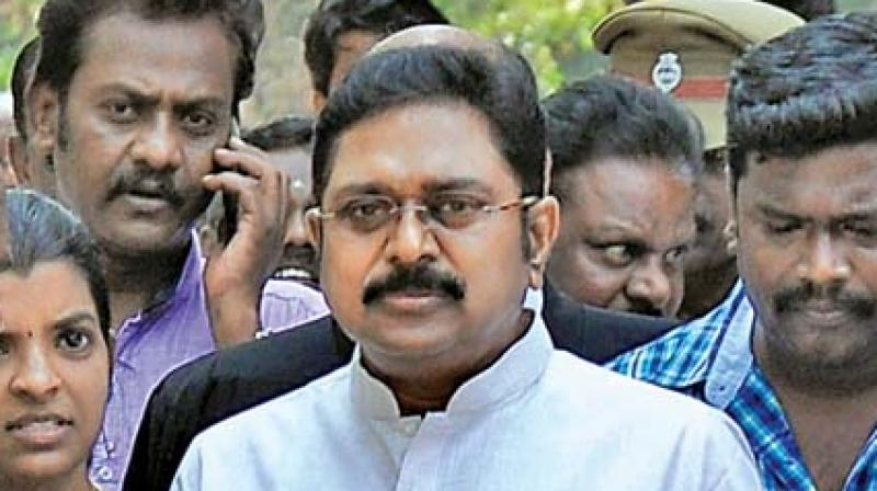 Dinakaran stakes claim to AIADMK, will tour state to 'strengthen party'