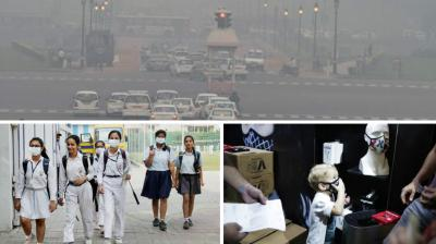 Air pollution is said to have reached alarming levels in both Delhi and Gurgaon, with the cities recording the worst level of smog in 17 years.