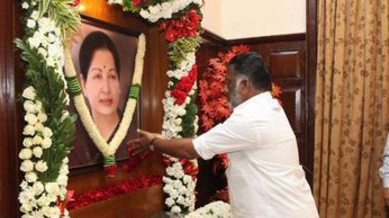 Tamil Nadu Cabinet had on Dec 10 decided to recommend Jayalalithaa's name for India's highest civilian honour.