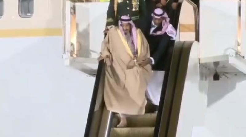 This is the first time a ruler of Saudi Arabia is visiting Russia (Photo: YouTube)