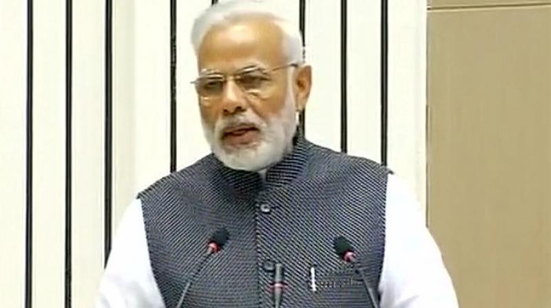 PM Modi tweets seeking feedback on notes ban in survey on app