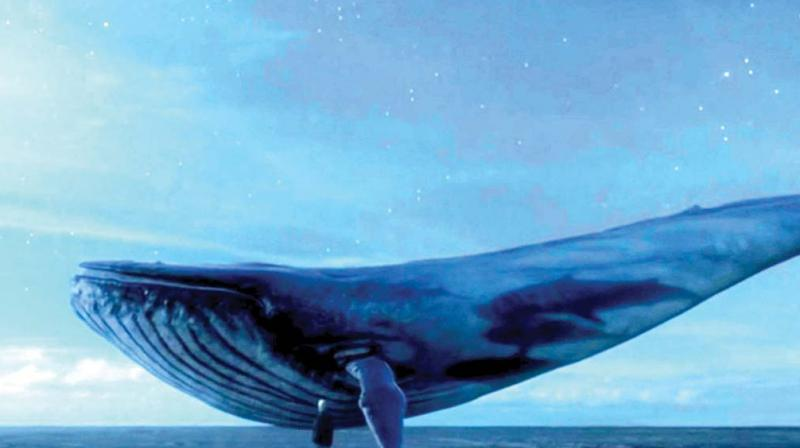 Delhi boy who stabbed self with compass saved — Blue Whale game