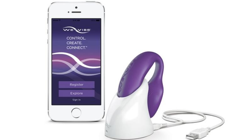 The We-Vibe, which can be controlled by a smartphone app, is marketed as