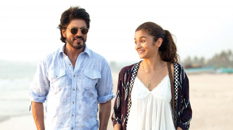 SRK plays an unconventional shrink in Dear Zindagi.
