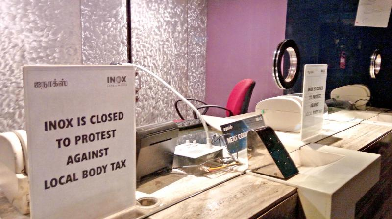 Chennai multiplexes strike against double taxation in Tamil Nadu