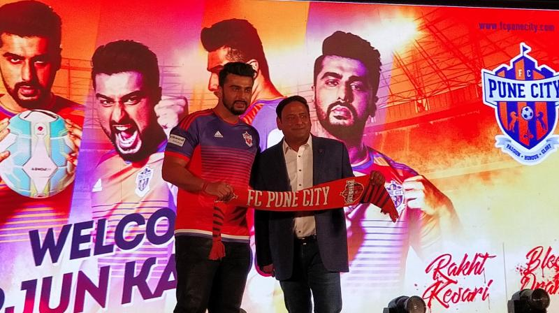 ISL 2017: Arjun Kapoor becomes the co-owner of FC Pune City