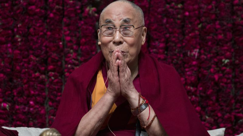 Tibetan spiritual leader the Dalai Lama  Photo  PTI