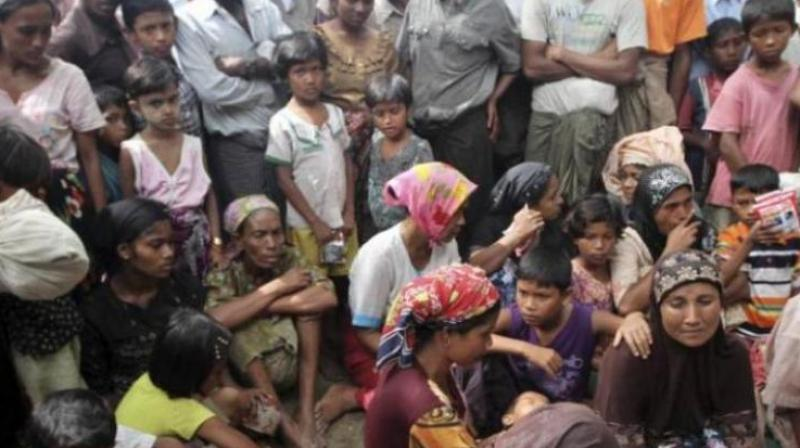 Today, we are concerned about the ethnic cleansing in Myanmar that has driven over 100,000 unfortunate Rohingya Muslims to Bangladesh (Representational Image)