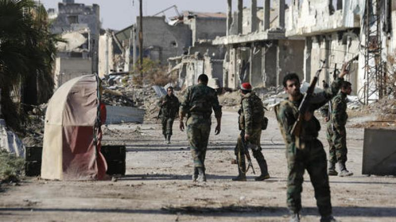 Syrian Army Regains Full Control over Al-Tall City in Damascus Province