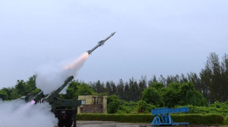 India Test-Fires Quick Reaction Surface-To-Air Missile